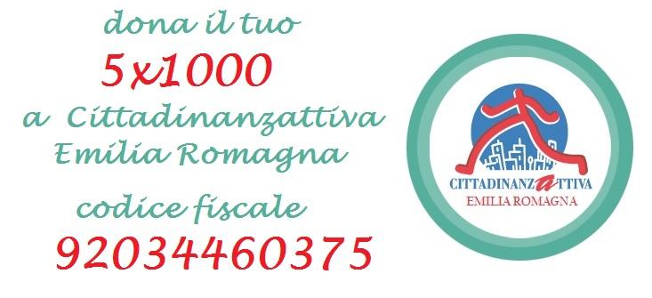 Dona il 5x1000 a Cittadinanzattiva-ER. Codice fiscale 92034460375