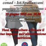 Alimentazione e nutrizione nell'incontro a Castelfranco Emilia