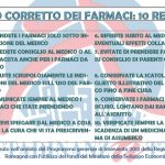USO CORRETTO DEI FARMACI IN 10 REGOLE