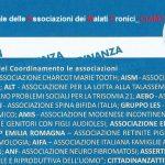 30 OTTOBRE 2015: RIUNIONE DEL COORDINAMENTO REGIONALE DELLE ASSOCIAZIONI DEI MALATI CRONICI DELL'EMILIA ROMAGNA