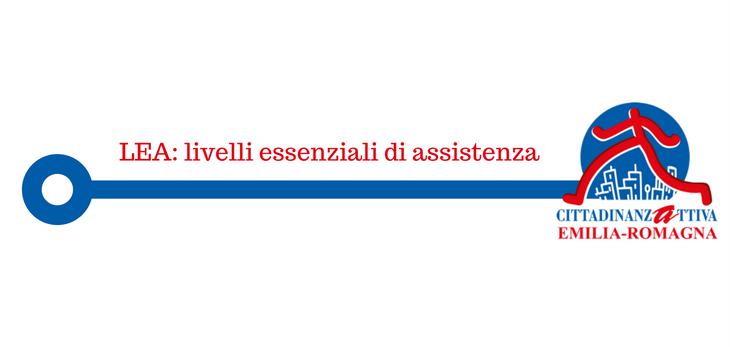 Lea: livelli essenziali di assistenza