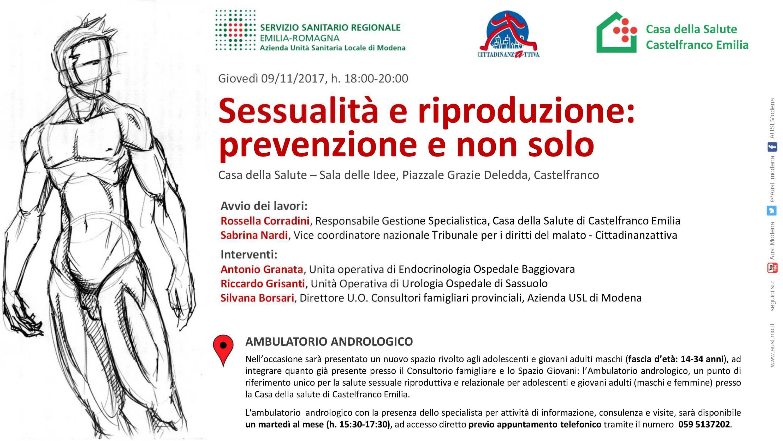 inaugurazione ambulatorio prevenzione sessuale maschile