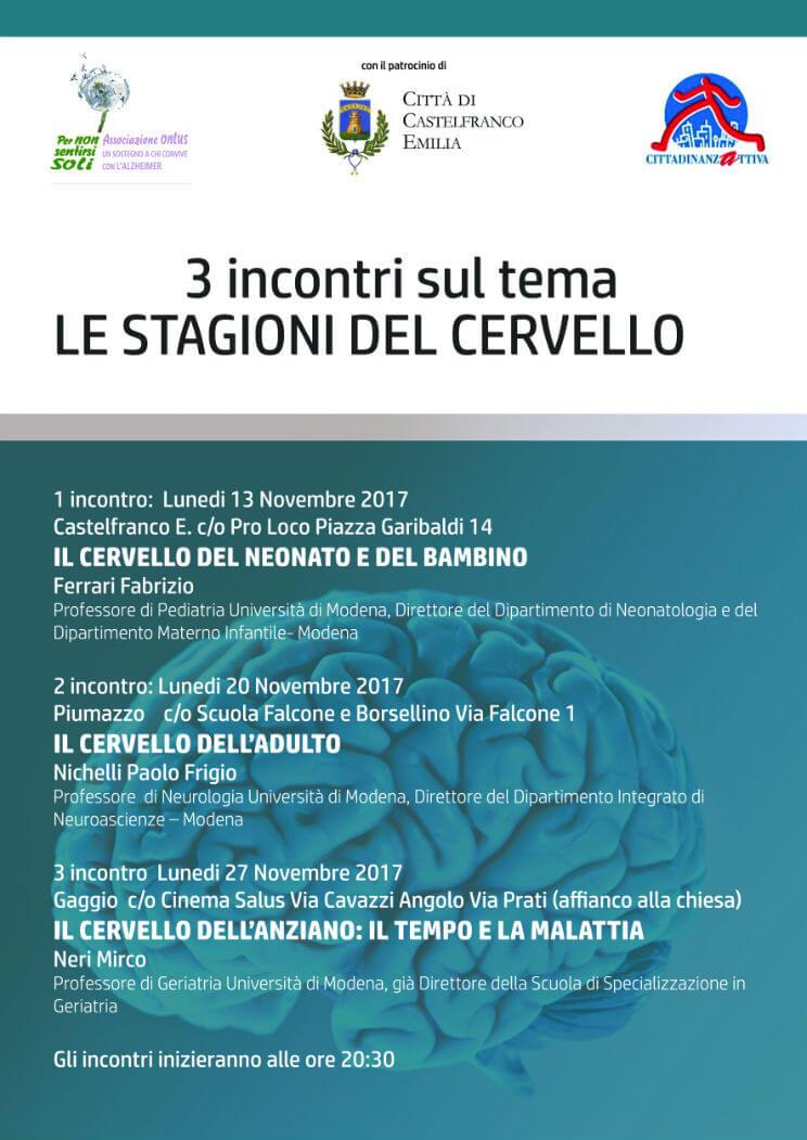 Ciclo di incontri sul cervello Castelfranco Emilia