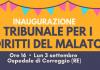 Inaugurazione Tribunale Diritti Malato ospedale Correggio