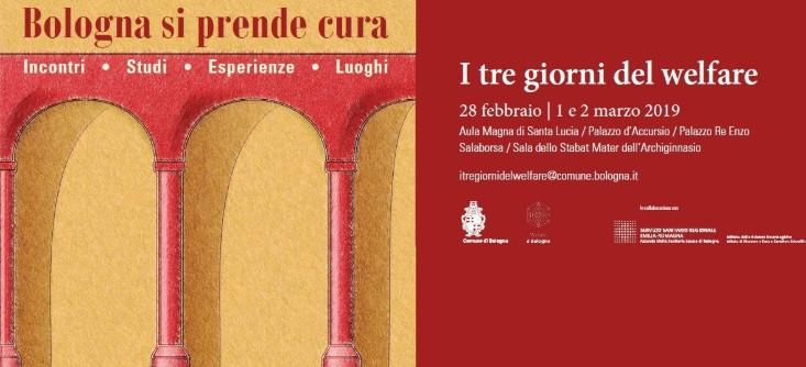Evento welfare Bologna febbraio-marzo 2019