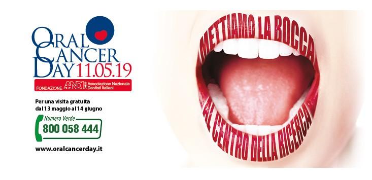 Giornata prevenzione tumore cavo orale 2019