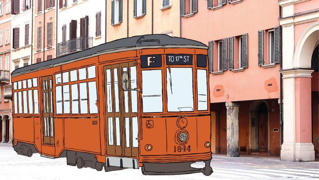 linea rossa tram bologna