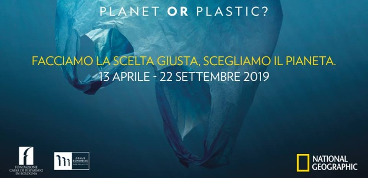 planet or plastic mostra Bologna